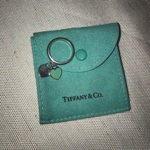 Tiffany & Co. Double Tag Heart Ring